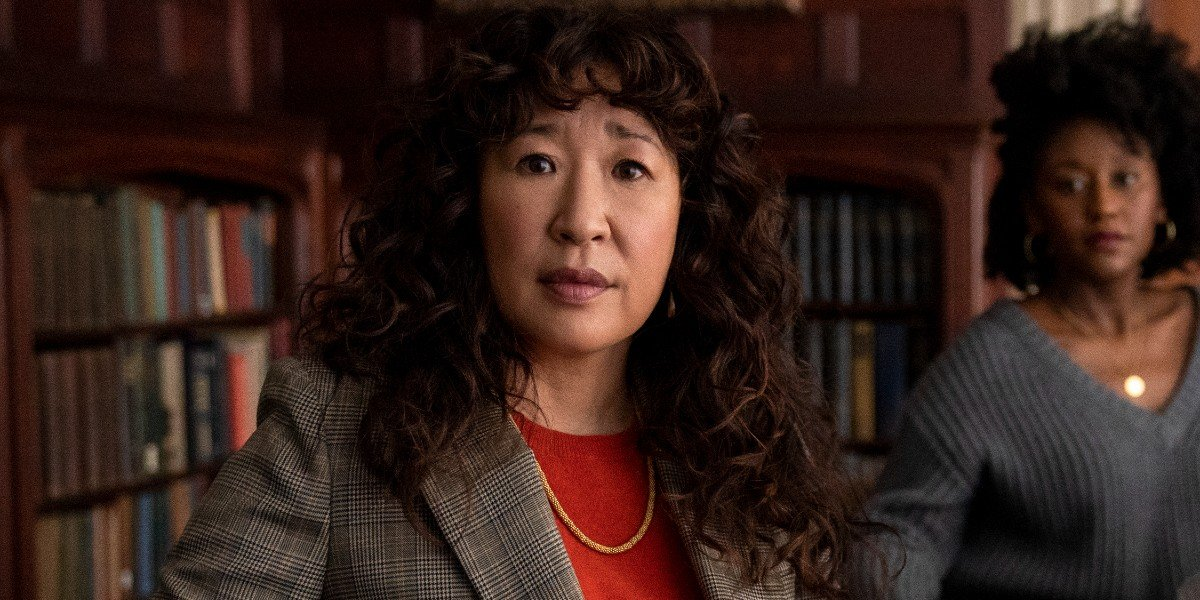 Sandra Oh in The Chair Netflix