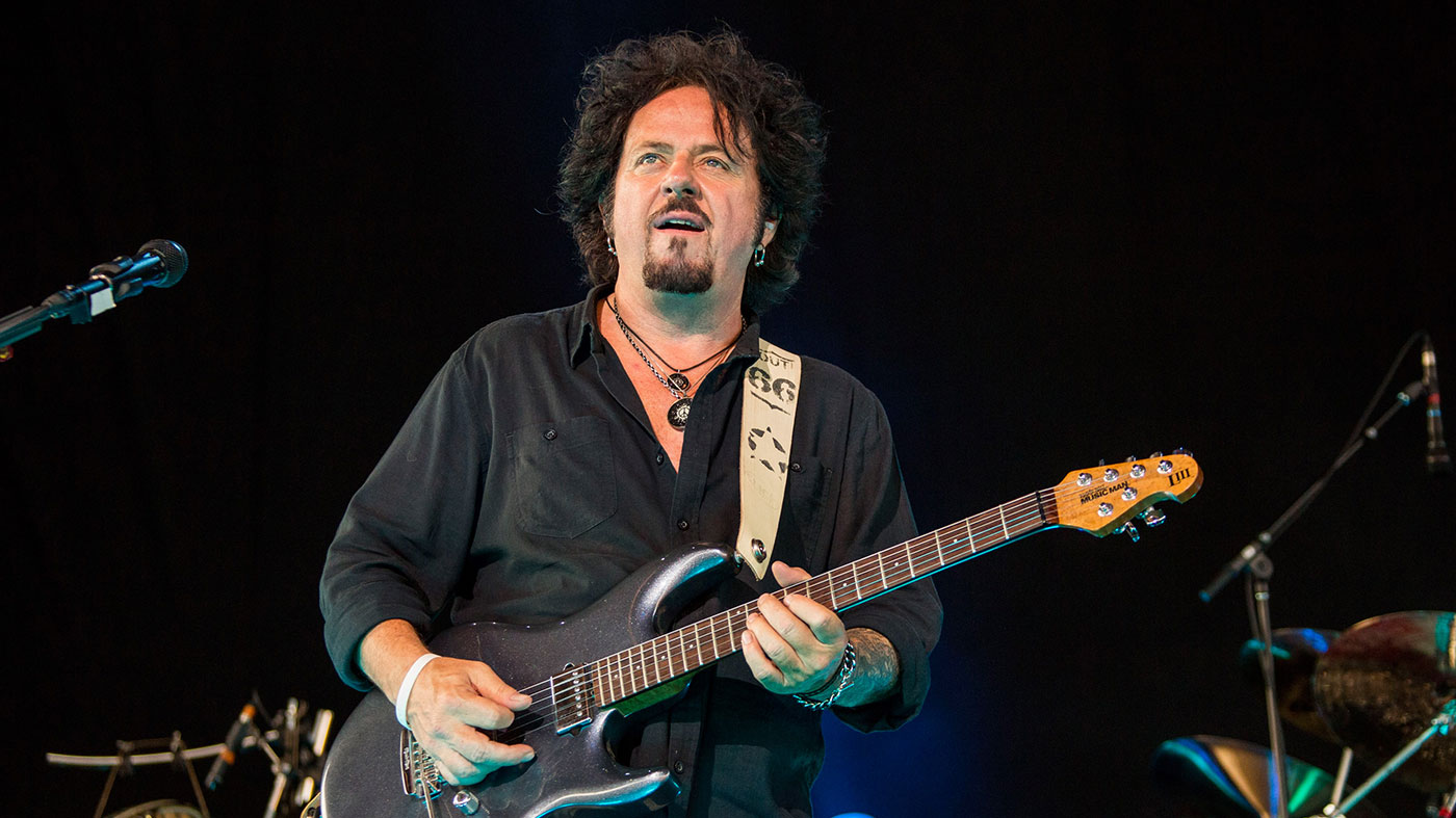 The 63-year old son of father (?) and mother(?) Steve Lukather in 2021 photo. Steve Lukather earned a  million dollar salary - leaving the net worth at  million in 2021