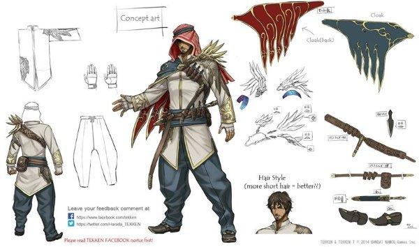 Tekken's new mystery character