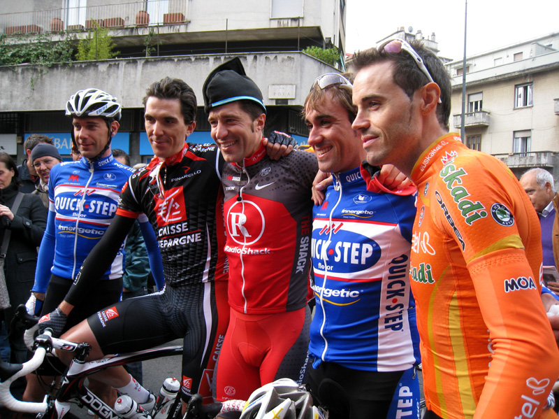 Start line, Tour of Lombardy 2010