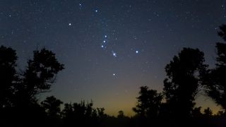 Women in Astrophotography: Orion constellation in sky