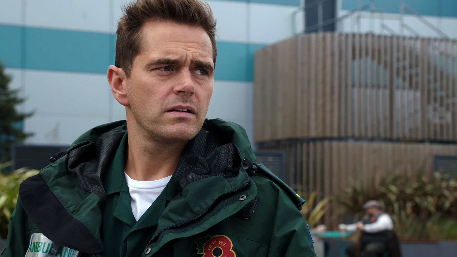 Casualty spoilers! Breaking point for Iain Dean!