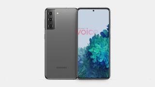 Samsung Galaxy S21 renders