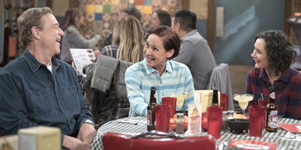 John Goodman Laurie Metcalf Sara Gilbert in The Conners Season 1 ABC