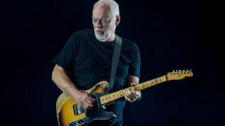 David Gilmour performs at the Royal Albert Hall on September 23, 2015 in London, England.