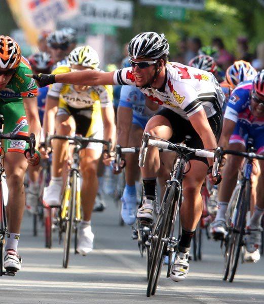 Giro stage 9 2008 Mark Cavendish