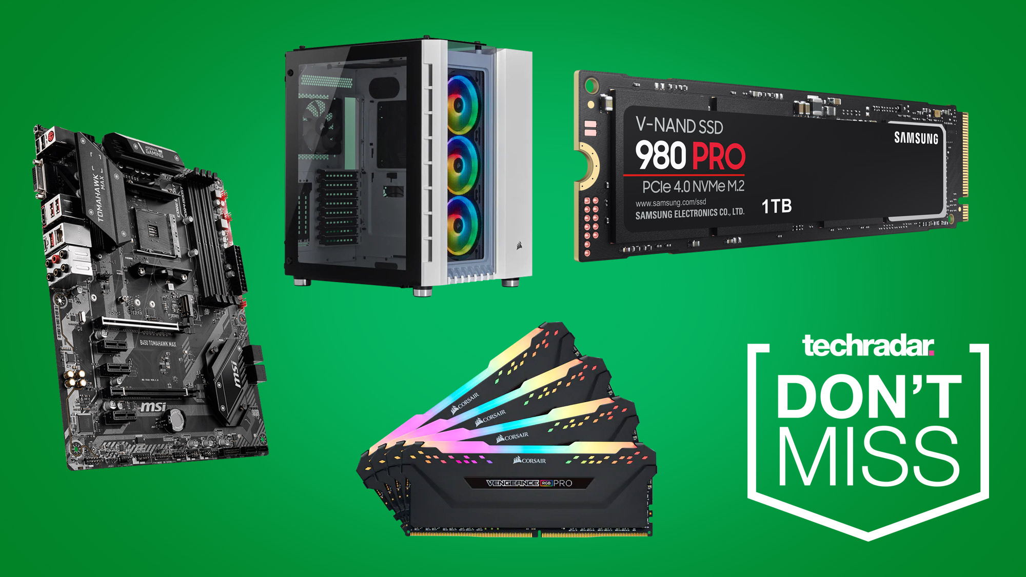 Newegg PC gaming sale: save on Intel processors, Samsung SSDs, Corsair RAM and more thumbnail