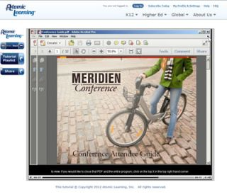 Video Tutorial: Opening & closing a PDF document in Adobe X Pro