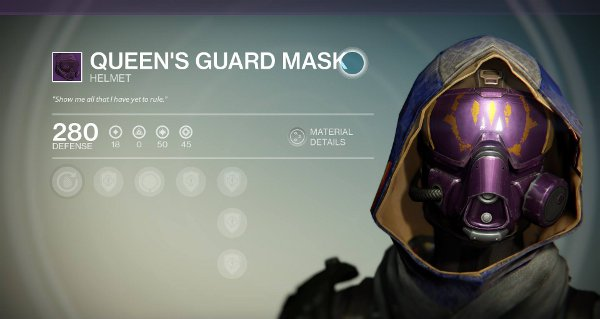 Queen's Guard Mask