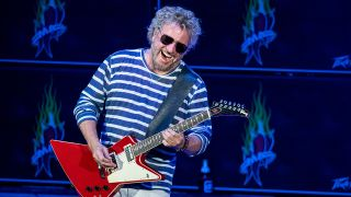 Sammy Hagar on stage