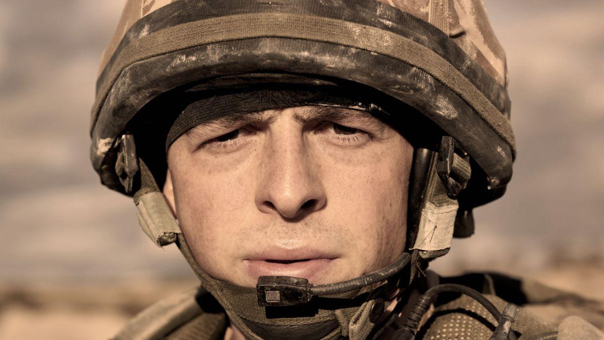 Danny Boy star Anthony Boyle: 'We filmed the Iraqi battlefield in a ditch in Watford'