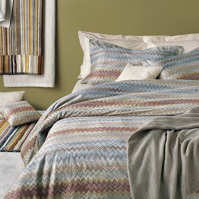That Print Is Instantly Reconginzable As Missoni So Itu0027s An Easy Way To  Inject A Fashionable Touch Into Your Bedroom. And As Youu0027d Expect The  Cotton Is Of ...