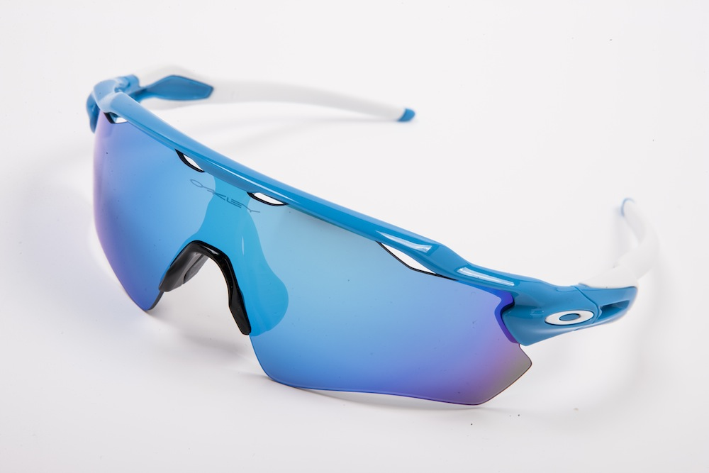 Oakley Blue Sunglasses  oakley radar ev review cycling weekly