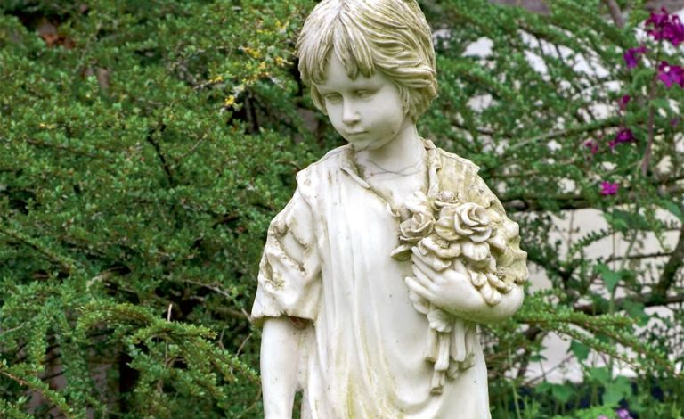 Stone Statues For Garden How to restore a garden statue real homes todo alt text workwithnaturefo