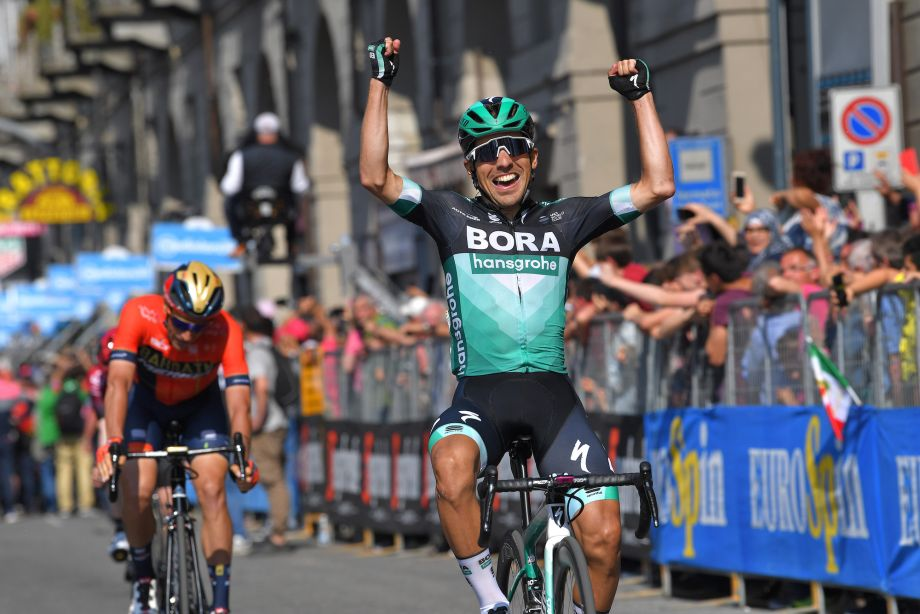 Cesare Benedetti takes victory on thrilling Giro d'Italia 2019 stage 12 as pink jersey changes hands