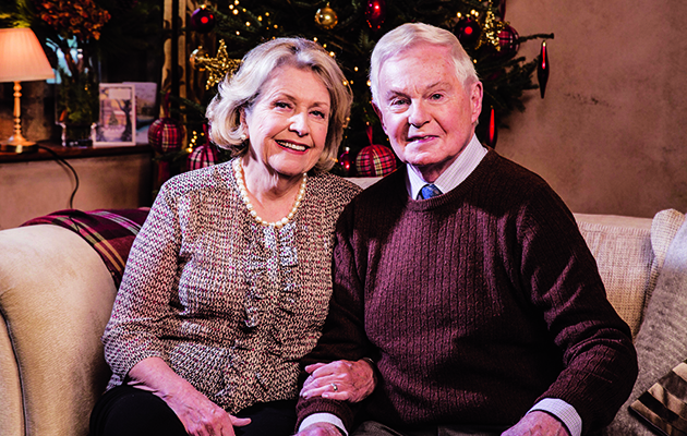 After a two-year hiatus, Anne Reid and Derek Jacobi reprise their much-loved roles as Celia and Alan in Last Tango in Halifax