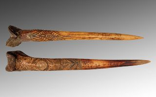 New Guinea Bone Daggers
