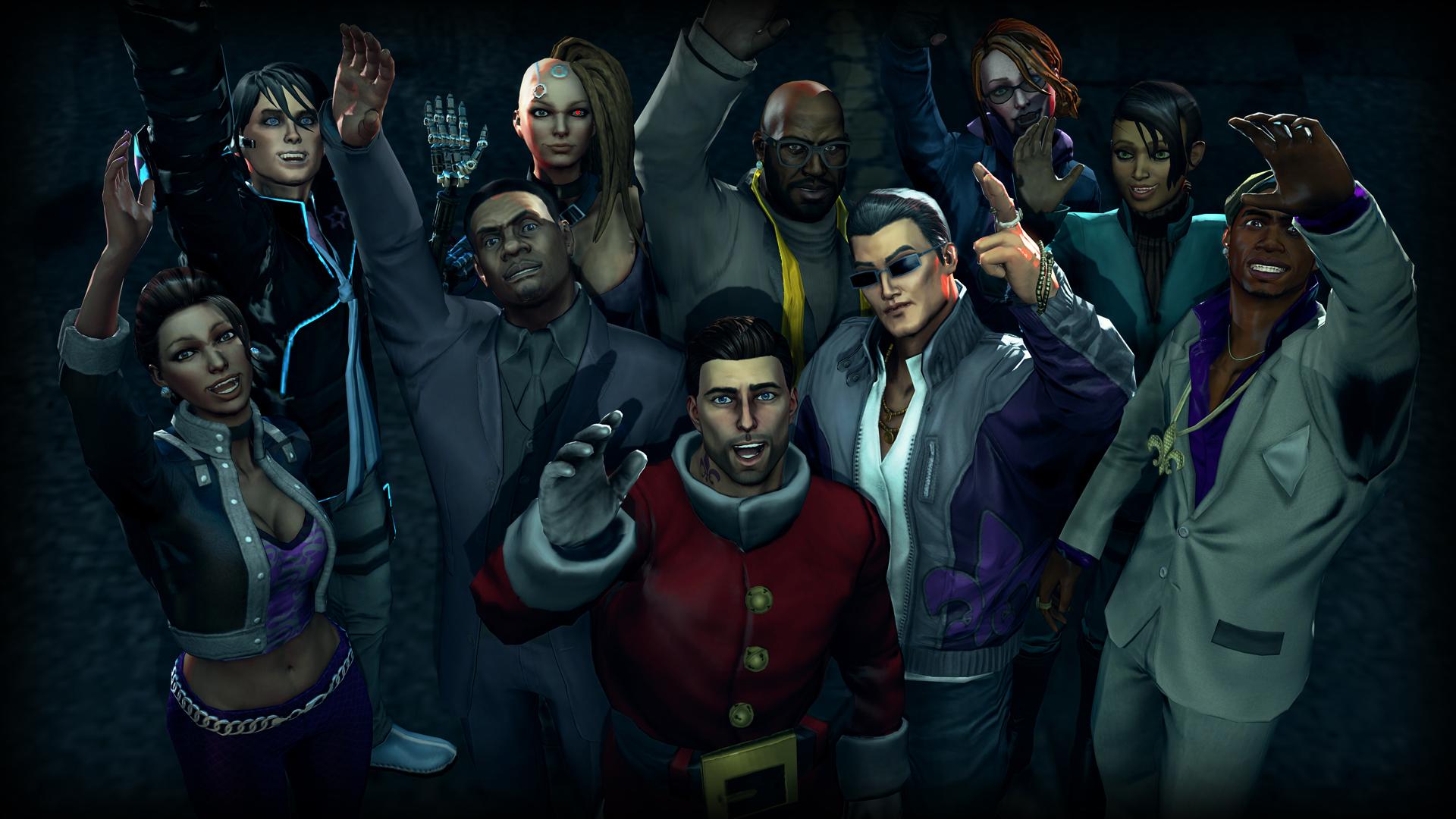 Saints Row 4 Christmas DLC Coming December 11th