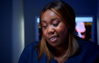 Holby City star Chizzy Akudolu returns to Holby City as Mo Effanga