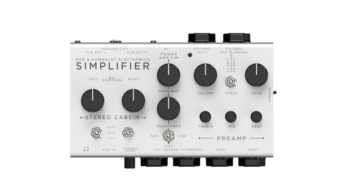 "DSM and Humboldt Electronics unveil the Simplifier, a ""zero-watt"" stereo guitar amplifier"