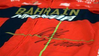 Win a Bahrain Merida Sportful jersey signed by Vincenzo Nibali