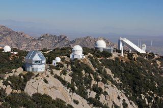 Kitt Peak National Observatory, photographed in 2012.