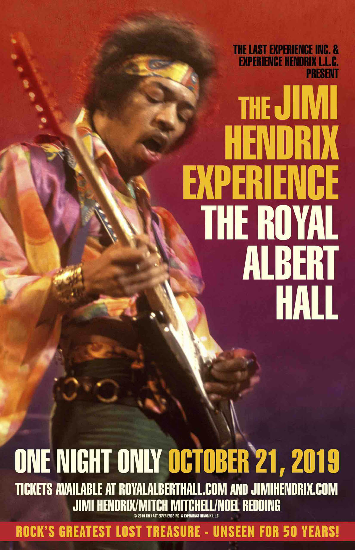 The Jimi Hendrix Experience return to the Royal Albert Hall for a special one-off concert movie | MusicRadar