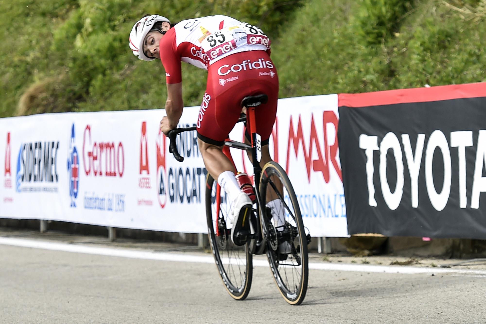 Giro dItalia 2021 104th Edition 8th stage Foggia Guardia Sanframondi 170 km 15052021 Victor Lafay FRA Cofidis photo Tommaso PelagalliBettiniPhoto2021