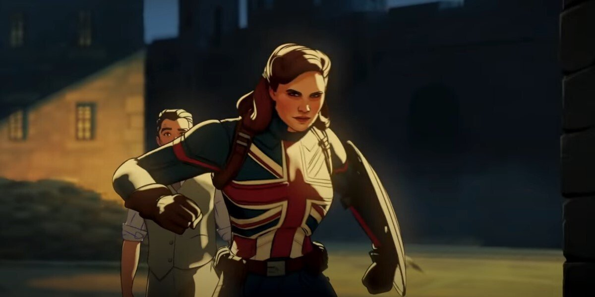 Captain Carter in full uniform in Marvel Studios' What If...?