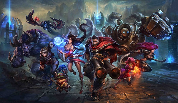 League heroes characters storm forward