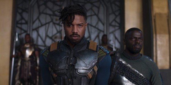Killmonger glaring 2018 movie