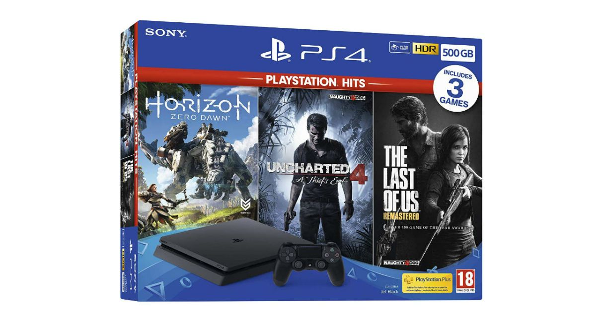 This essential PS4 bundle gives you 3 games and a slim console for £219, but you don't have long to get it!