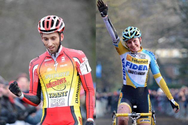 Ian Field and Nikki Harris win 2013 cyclo-cross national titles