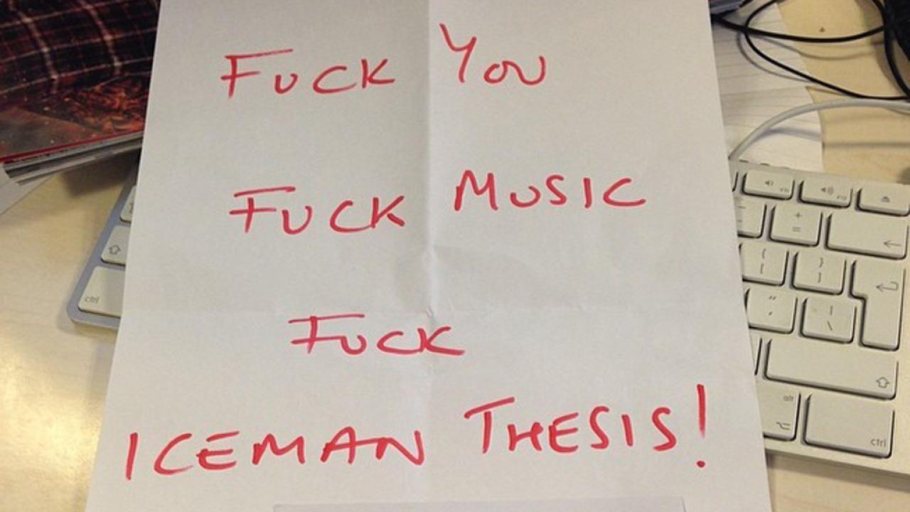 iceman thesis album