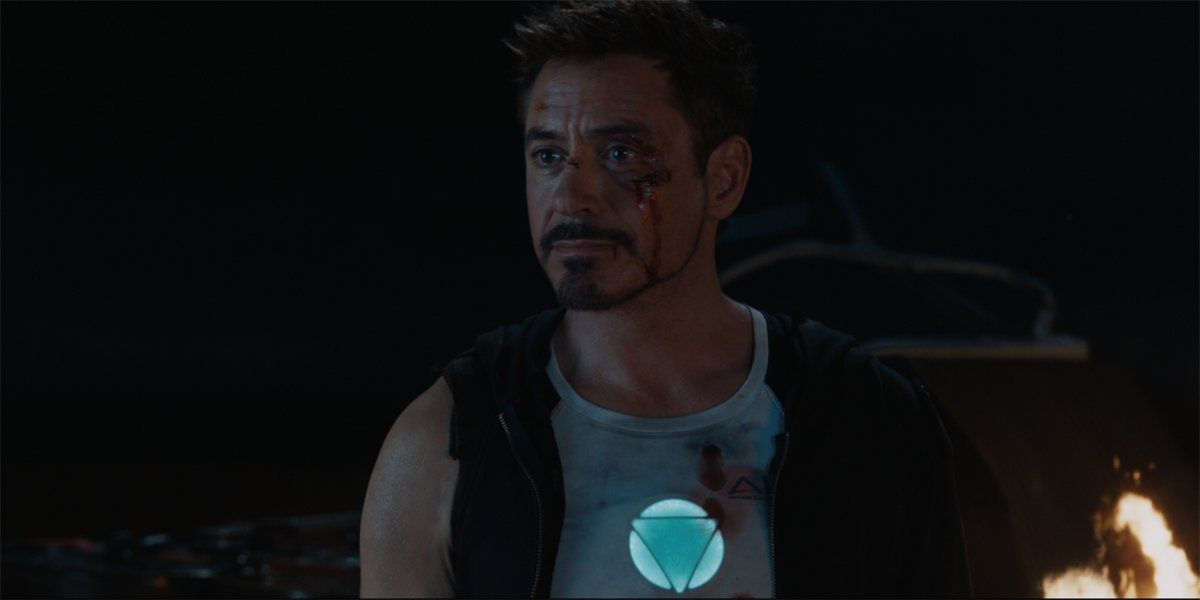 Iron Man 3 Iron Man and Pepper Potts