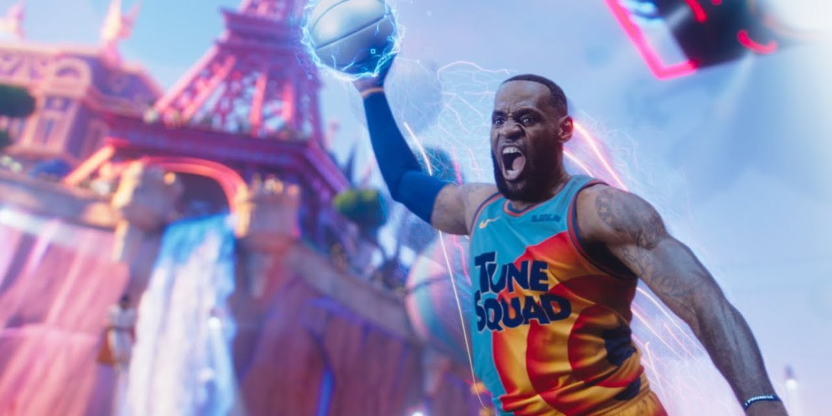 Lebron James in Space Jam: A New Legacy