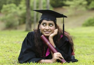 Graduate thinking about future