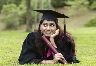 Graduate thinking about future