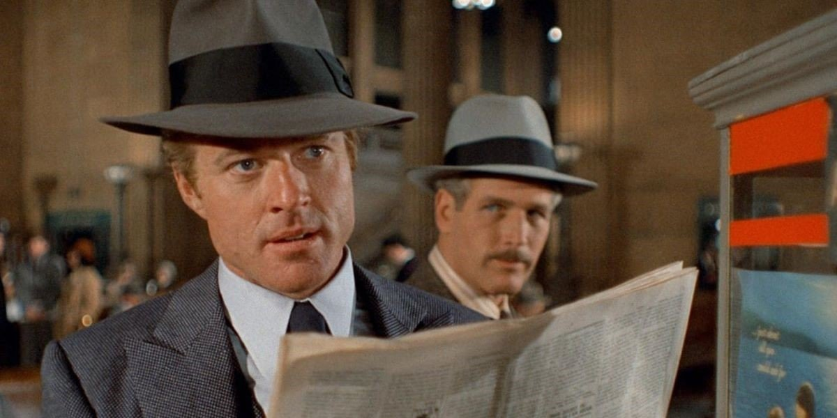 Robert Redford and Paul Newman in The Sting