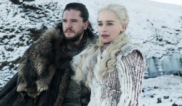 Game of Thrones Jon Snow Kit Harington Daenerys Targaryen Emilia Clarke HBO