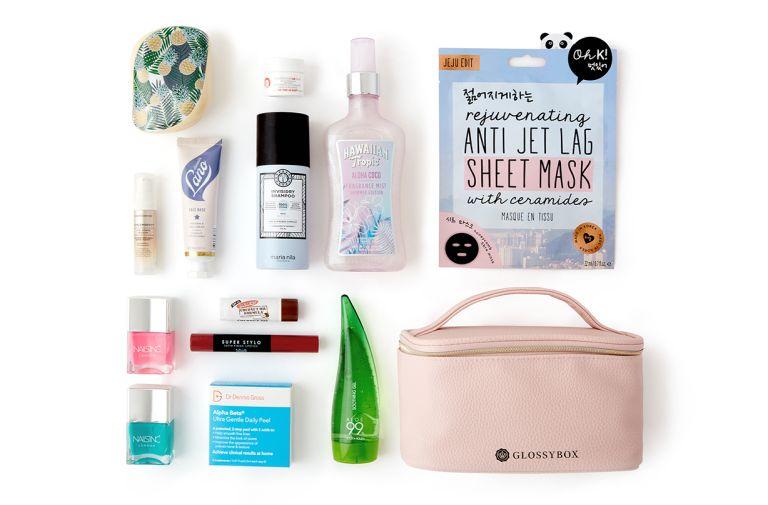 glossybox summer essentials kit