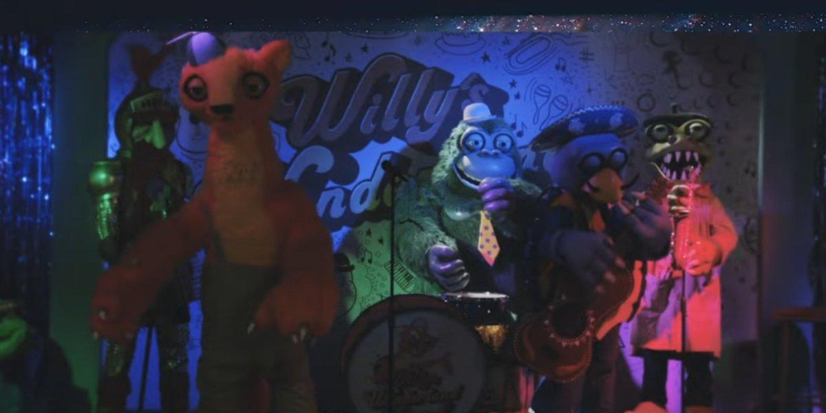 The evil animatronics from Willy's Wonderland