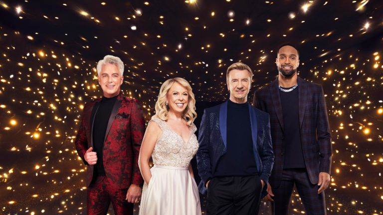 Dancing on Ice judges, John Barrowman, Ashley Banjo, Jayne Torvill and Christopher Dean