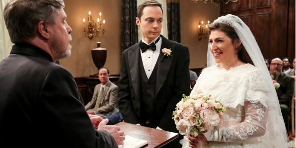 Mark Hamill Sheldon Amy wedding The Big Bang Theory cbs