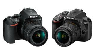 Nikon D3500 vs Nikon D3400