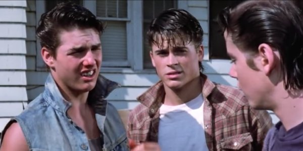 Tom Cruise in The Outsiders