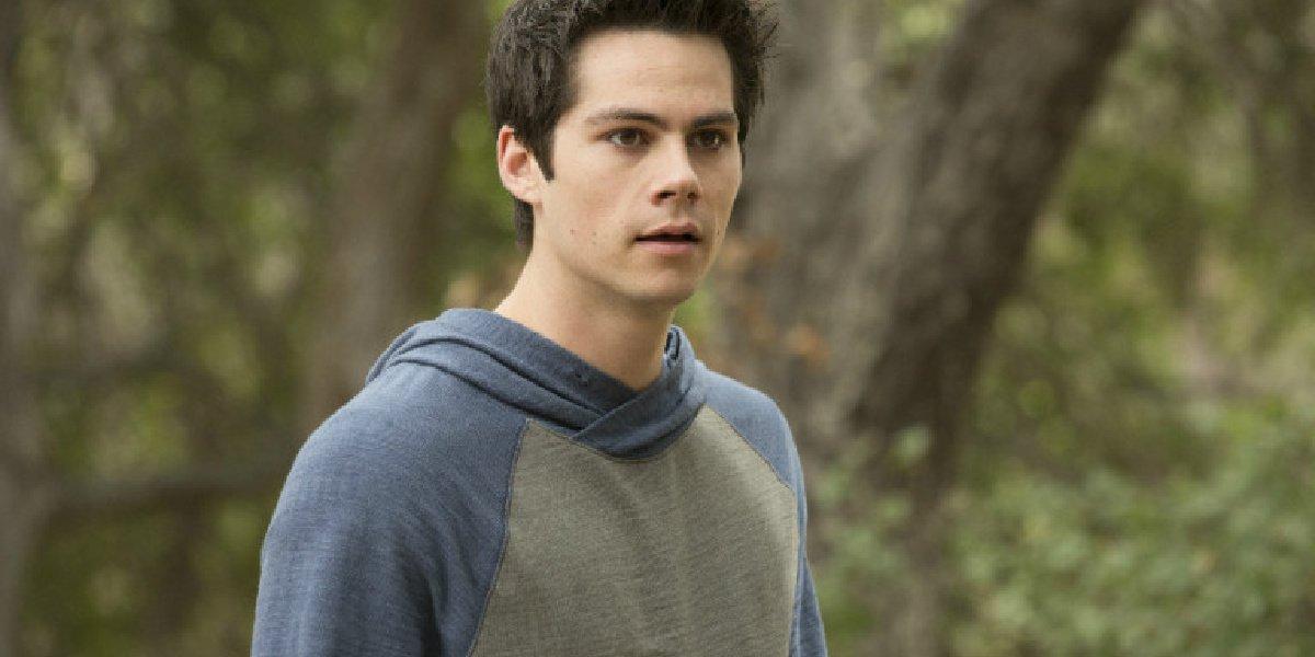 Dylan O'Brien as Stiles in Teen Wolf.