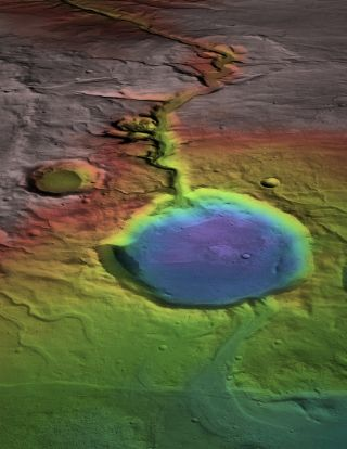 Water Flowed on Mars