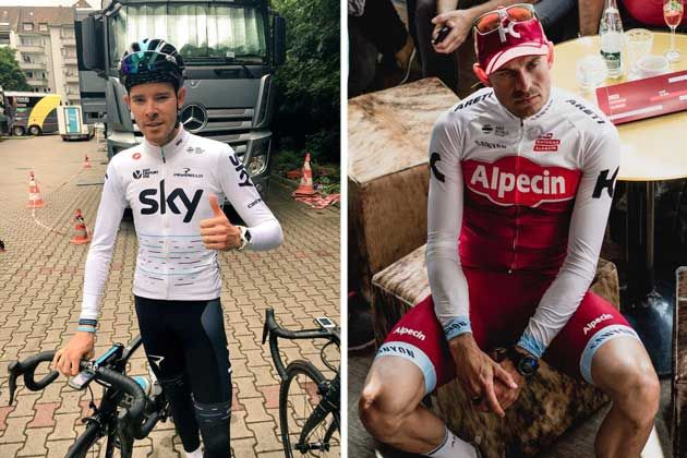 801a2dcc8 Sky and Katusha show off new team kit ahead of 2017 Tour de France ...