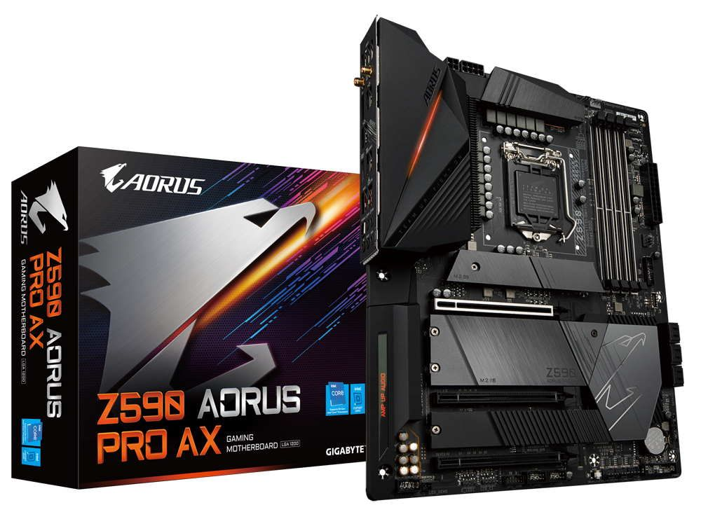 Gigabyte Z590 Aorus Pro AX Review: Premium Mid-Range
